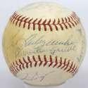 1966 Red Sox  Team Ball 7