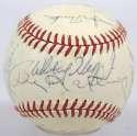 1977 Royals  Team Ball w/Roger Maris & Some Yankees 8 JSA LOA (FULL)