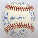 1982 Braves  Team Ball 9.5