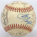 1983 Red Sox  Team Ball w/Yaz & Boggs 8