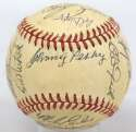 1984 Red Sox  Team Ball 8.5 (OAL Brown)
