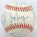1990 Red Sox  Team Ball 9.5 JSA LOA (FULL)