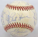 1993 Astros  Team Ball (25 sigs w/Bagwell, Biggio) 9
