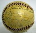 1938 NL All Stars  Team Ball w/Willard Hershberger 8 PSA DNA LOA (FULL)