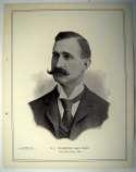 1898 National Copper Plate 44 Sam Thompson Ex-Mt*