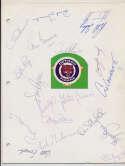 Team Sheet  1981 Cardinals (19 w/Sutter, Hernandez) 8.5