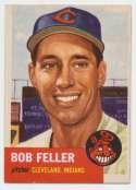 1953 Topps 54 Feller VG+