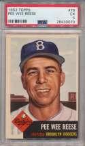 1953 Topps 76 Reese PSA 5