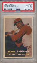 1957 Topps 35 F Robby RC PSA 4