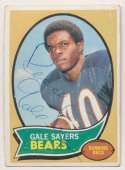 1970 Topps 70 Gale Sayers 9