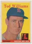 1958 Topps 1 Williams Ex