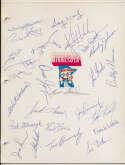 Team Sheet  1982 Twins (25 w/Hrbek, Gaetti, Brunansky, Viola) 9