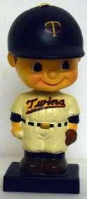 1962 Bobbin Head  Minnesota Twins Square Base Ex
