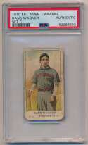 1910 E91-A American Caramel  Honus Wagner PSA Authentic