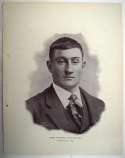 1898 National Copper Plate 45 Honus Wagner RC Ex-Mt*