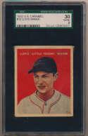 1932 U.S. Caramel 13 L. Waner SGC 2