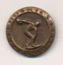 1937 Wheaties  Huskies Club Membership Pin Ex-Mt/NM