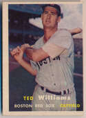 1957 Topps 1 Ted Williams VG
