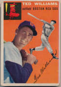 1954 Topps 1 Ted Williams GVG