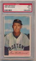 1954 Bowman 66 Ted Williams PSA 3.5