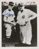 8 x 10  Williams, Ted (w/Babe Ruth) 9.5 JSA LOA (FULL)