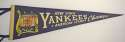 1953 Pennant  Early 1950s NY Yankees AL Championship Pennant NM