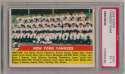 1956 Topps 251 Yankees TC PSA 5