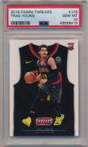 2018 Panini Threads 143 Trae Young PSA 10