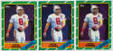 1986 Topps 374 Steve Young RC (lot of 5) Ex-Mt