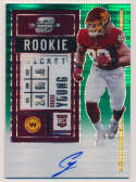 2020 Panini Optic Contenders 102 Chase Young Rookie Ticket Auto (7/27)