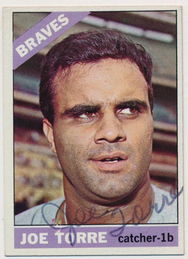 Lot #48 1966 Topps # 130 Torre Cond: 7.5