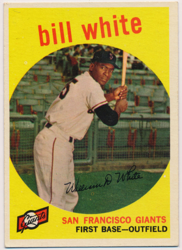 Lot #902 1959 Topps # 359 White RC Cond: Ex-Mt+