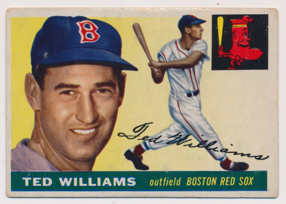 1955 Topps 2 Ted Williams GVG