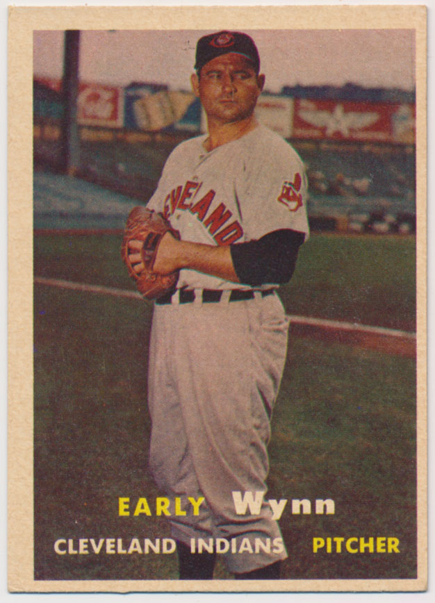 Lot #864 1957 Topps # 40 Wynn Cond: Ex