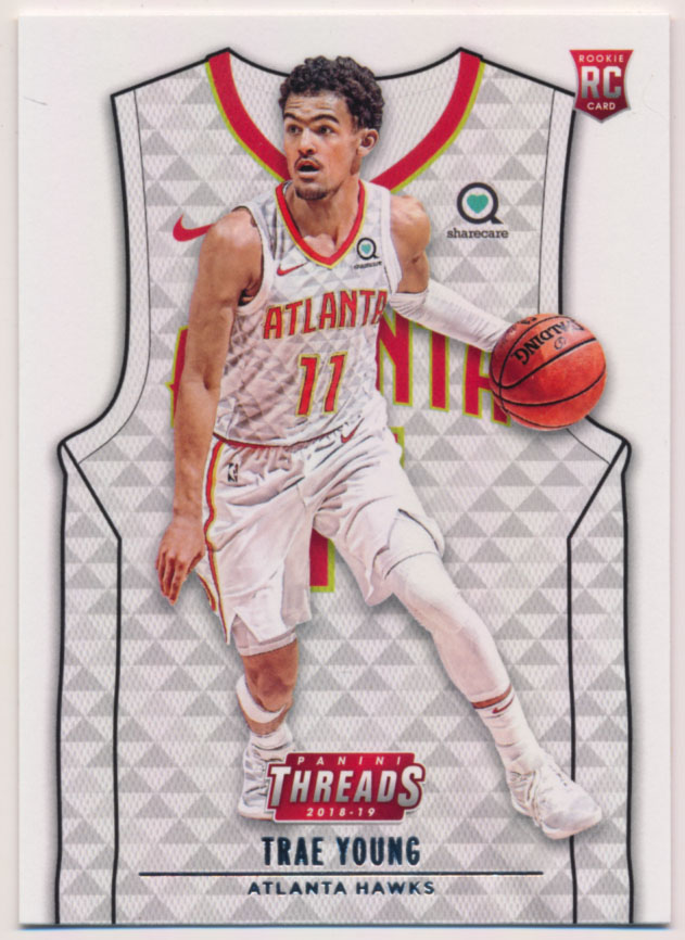 Lot #1266 2018 Panini Threads  Trae Young
