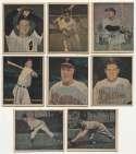 Lot #1 1951 Berk Ross  Near Complete Baseball Set (38/40) Cond: Ex