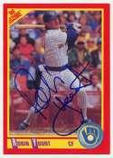 Lot #143 1989 Score # 320 Robin Yount Cond: 9.5