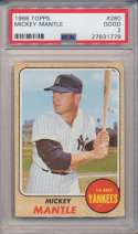 Lot #899 1967 Topps # 150 Mantle Cond: PSA Authentic Altered