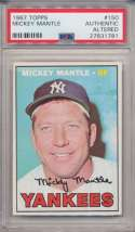 Lot #907 1968 Topps # 280 Mantle Cond: PSA 2