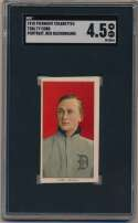 Lot #5 1909 T206 #   Cobb (portrait, red bckgrnd) Cond: SGC 4.5