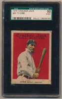 Lot #7 1915 Cracker Jack # 30 Ty Cobb Cond: SGC 4