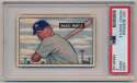 Lot #15 1951 Bowman # 253 Mickey Mantle RC Cond: PSA 2
