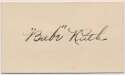 Lot #25  Cut  Ruth, Babe Superb Early 1920s Signature Cond: 9