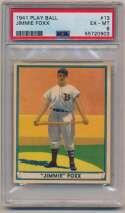 Lot #133 1941 Play Ball # 13 Foxx Cond: PSA 6