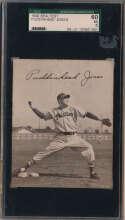 Lot #147 1949 Sealtest Phillies  Jones, William Puddinhead Cond: SGC 5