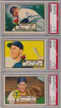 Lot #192 1952 Topps  Lot of 46 different PSA 6s