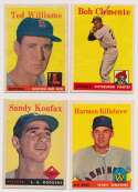Lot #311 1958 Topps  Complete Set -4 Cond: VG-Ex/Ex