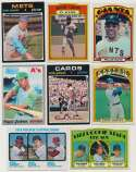 Lot #335 1970   1970 - 1975 Superstar/Rookie Card Binder (180 cards) Cond: Ex-Mt