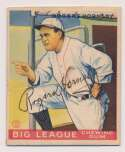 Lot #419 1933 Goudey # 188 Rogers Hornsby Cond: 9