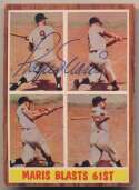 Lot #423 1962 Topps # 313 Maris In Action Cond: 9
